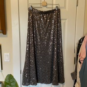 Mossimo sequin maxi dress large